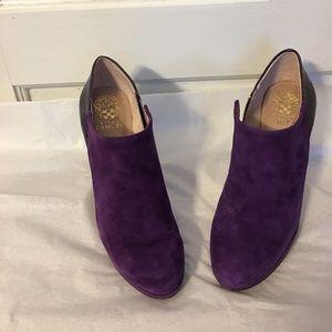 Vice Camuto  Elvin Eggplant booties 8.5M